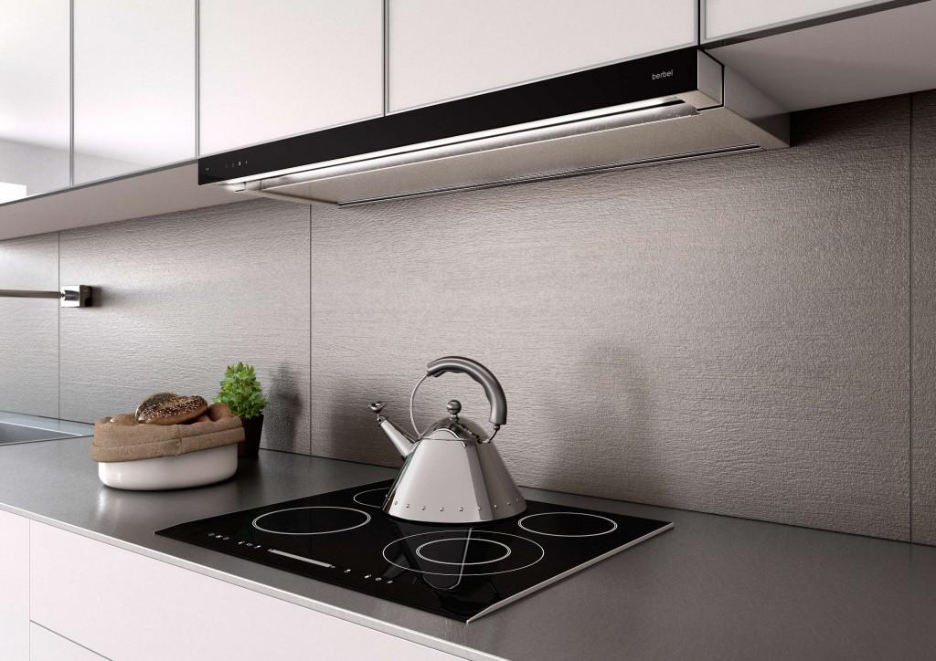 Inselhaube ergoline küchenabzugshauben von berbel architonic