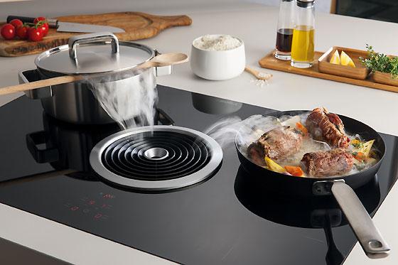 BORA BASIC Kochfeld und Kochfeldabzug in einem. BFIA/BFIU, BIA/BIU, BHA/BHU