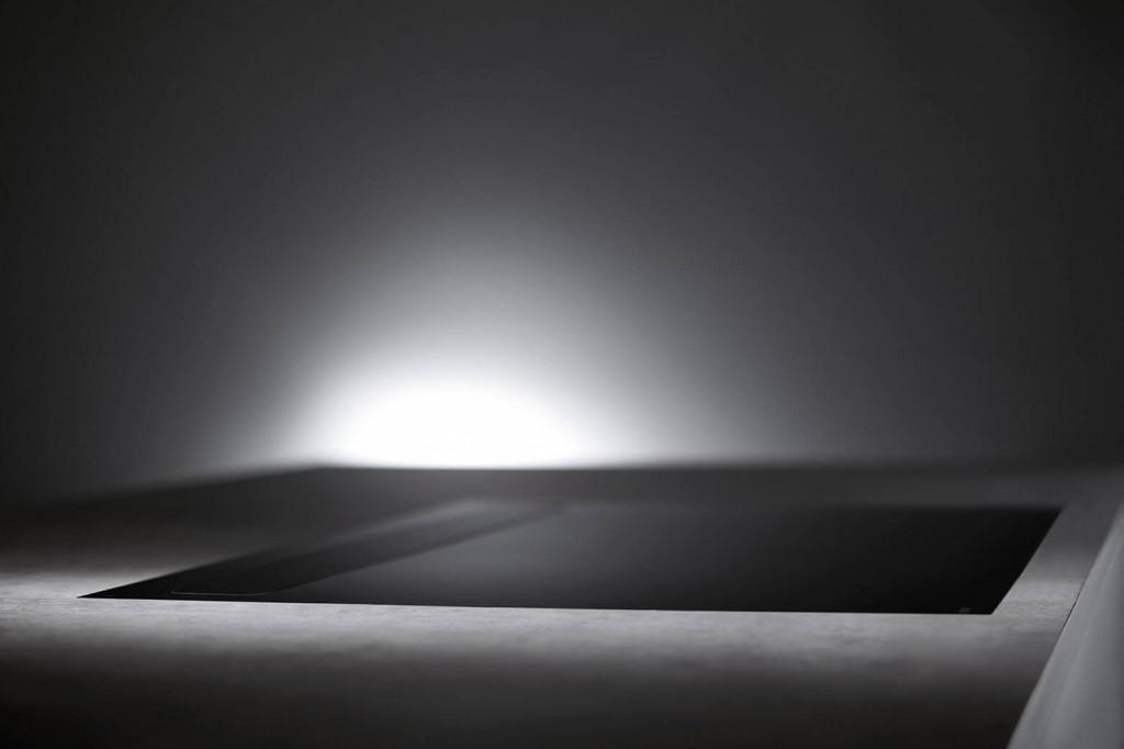 Novy Kochfeldabzug Panorama 1821 ist geschlossen eine nahezu unsichtbare Dunstabzugshaube
